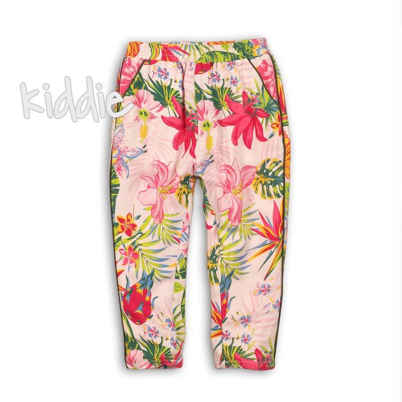 Pantaloni sport cu print Minoti pentru fata
