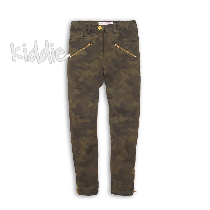 Pantalon Minoti camuflaj pentru fata