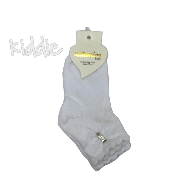 Ciorapi scurti bebe Katamino cu fundita