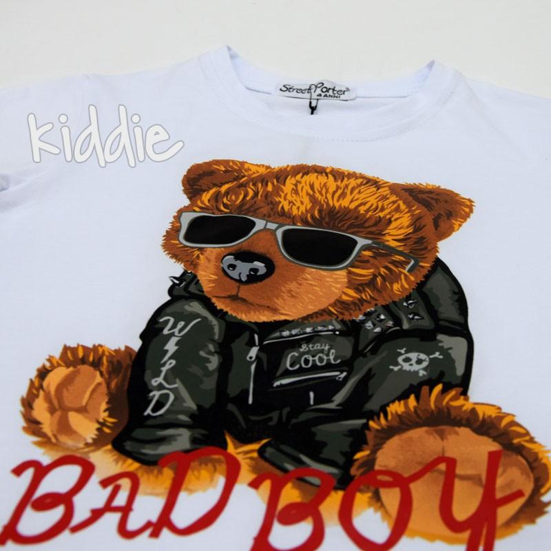 Tricou baieti Street parter Bad Boy